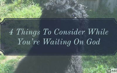 4 Things To Consider While You're Waiting On God